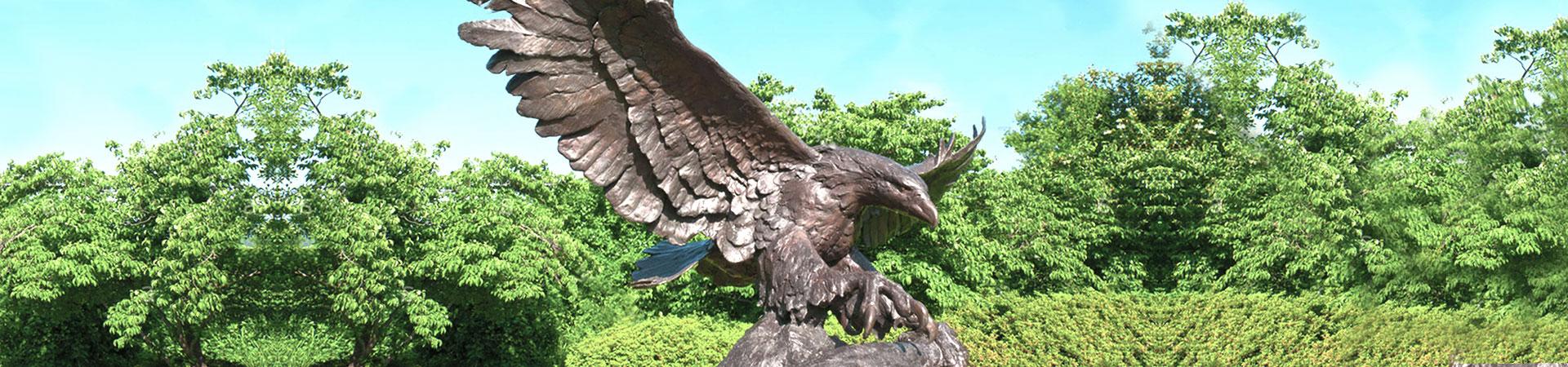 Бронзовая скульптура льва &Медная скульптура  льва