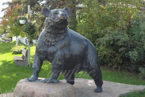 Героическая скульптура медведя из на камине в искусстве для продажи