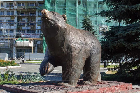 Государственная скульптура медведя из бронзы презентация ручная работа