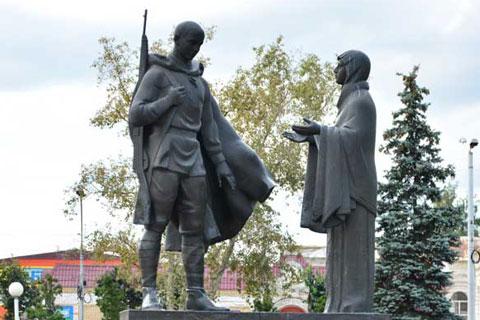 Заказать бронзовую статуэтку солдатов ручная работа на улице в искусстве для продажи