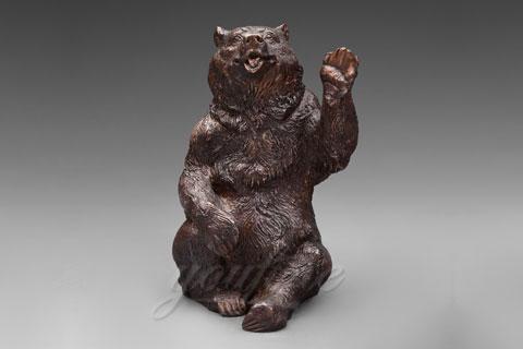 Заказать скульптура медведя из бронзы как вид искусства в школе искусств