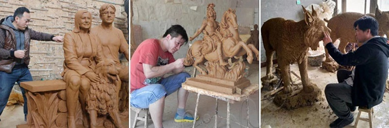 Мастера глиняных форм
