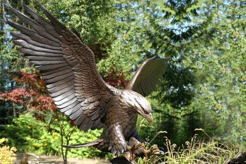 Презентация скульптура орла на ветке из меди как вид изобразительного искусства ручная работа