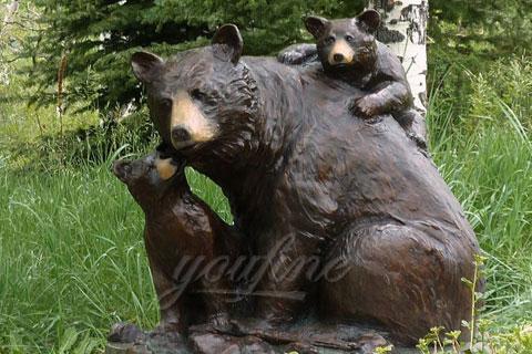 Романская скульптура Три Медведя из меди человека в истории скульптуры в царском селе