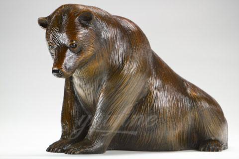 Храбрая скульптура Медведя из бронзы в искусстве для продажи