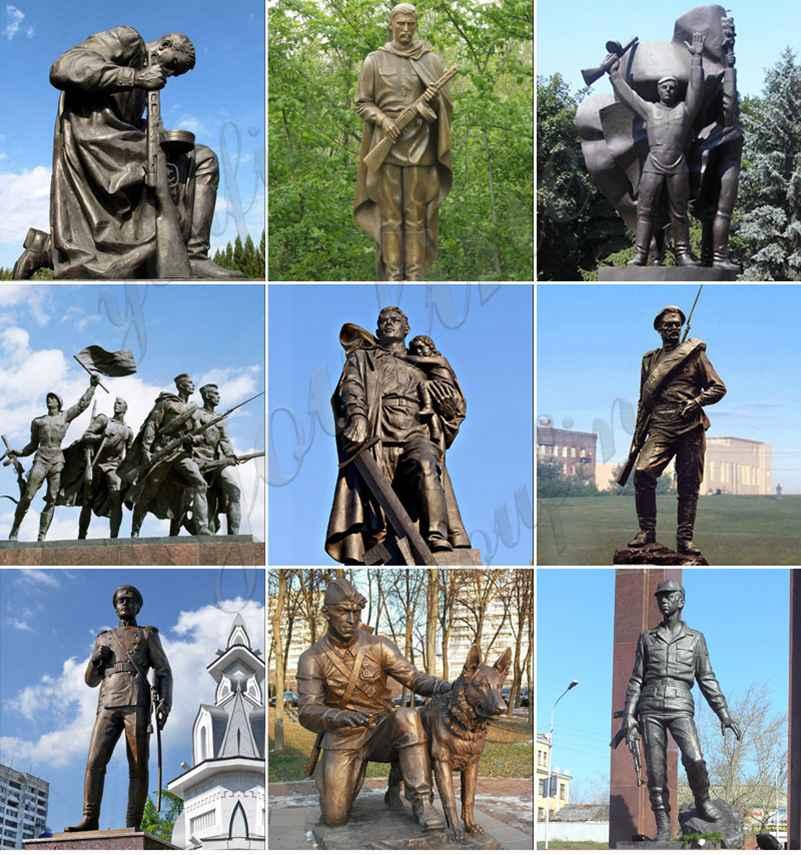 бронзовая фигура статуи