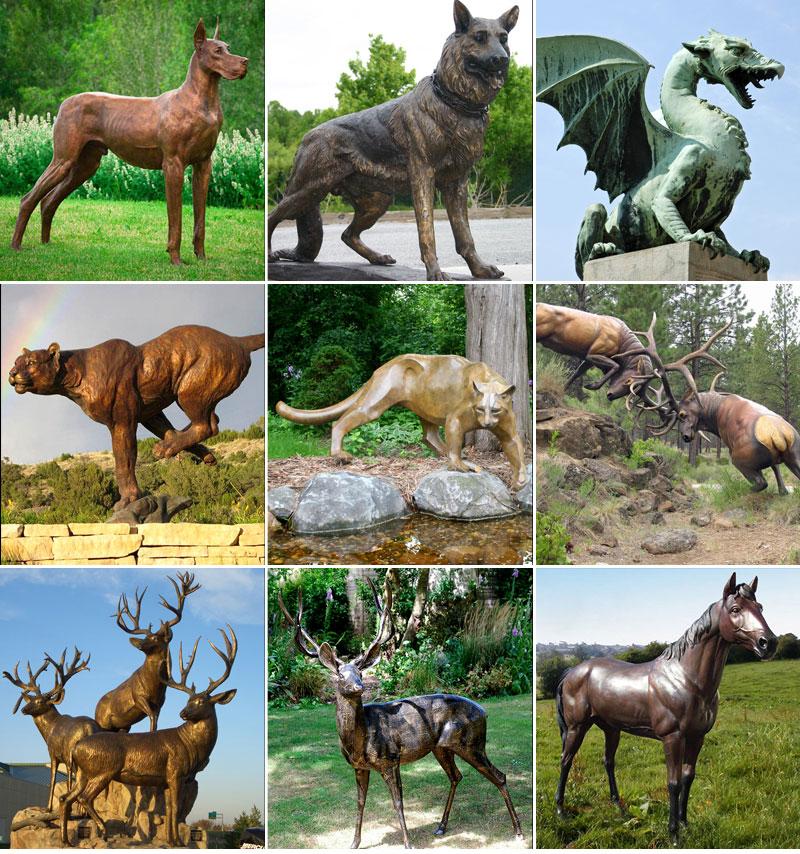 бронзовое животное