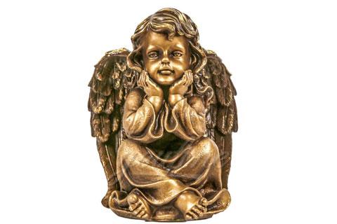 Дарить статуэтку ангела из бронзы для дома