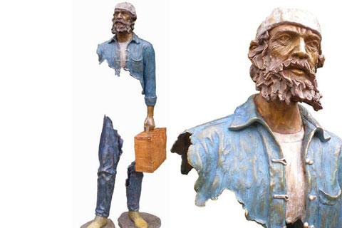 Известные Опустошенные скульптуры из бронзы