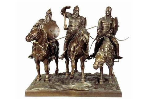 Известные скульптуры солдатов из бронзы в искусстве