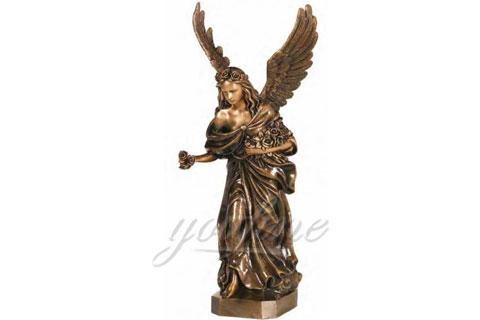 Купить девушек ангела из бронзы для дома