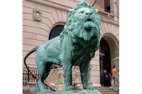 Купить скульптуру льва в искусстве на улице