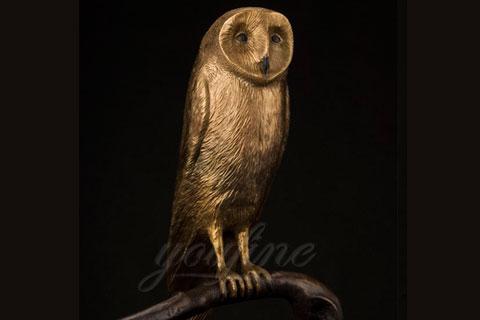 Под заказать скульптура совы из бронзы  в скульптуре для дома
