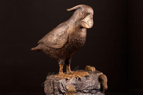 Под заказать скульптуру попугая из бронзы  в скульптуре для дома