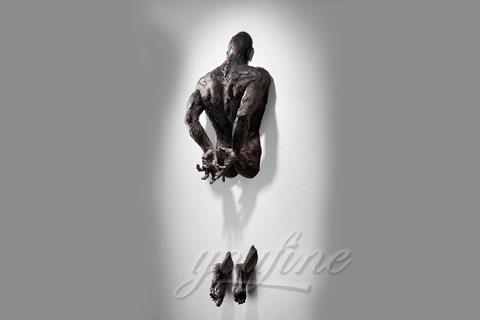 Продать Проходящий сквозь стены скульптура в интерьере для деклоа