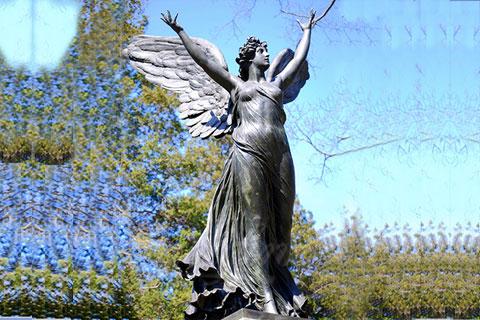 Скульптура танец Ангела в искусстве для декора