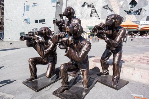 Статуя оленя в искусстве для декора
