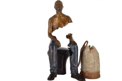 Французская Скульптура призраки