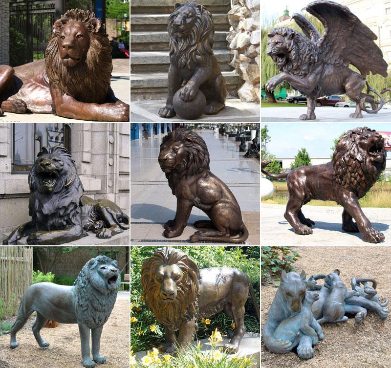 лев садовый