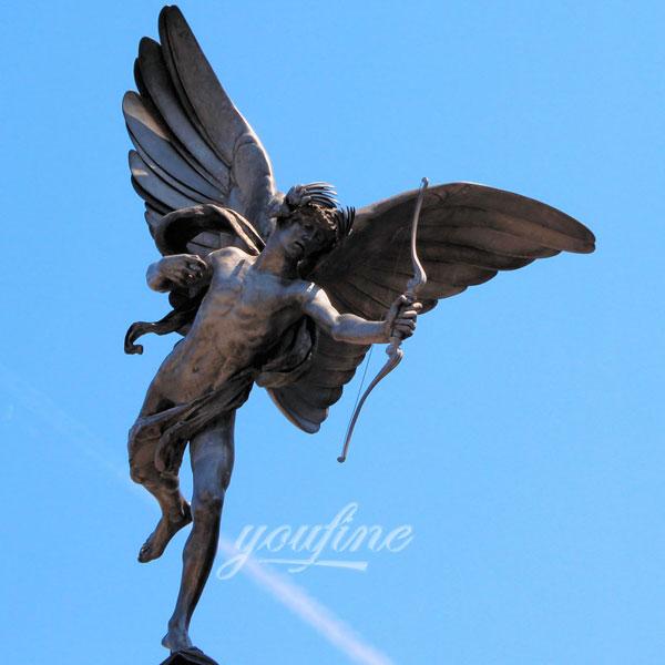 Статуя ангела в интерьере для декара