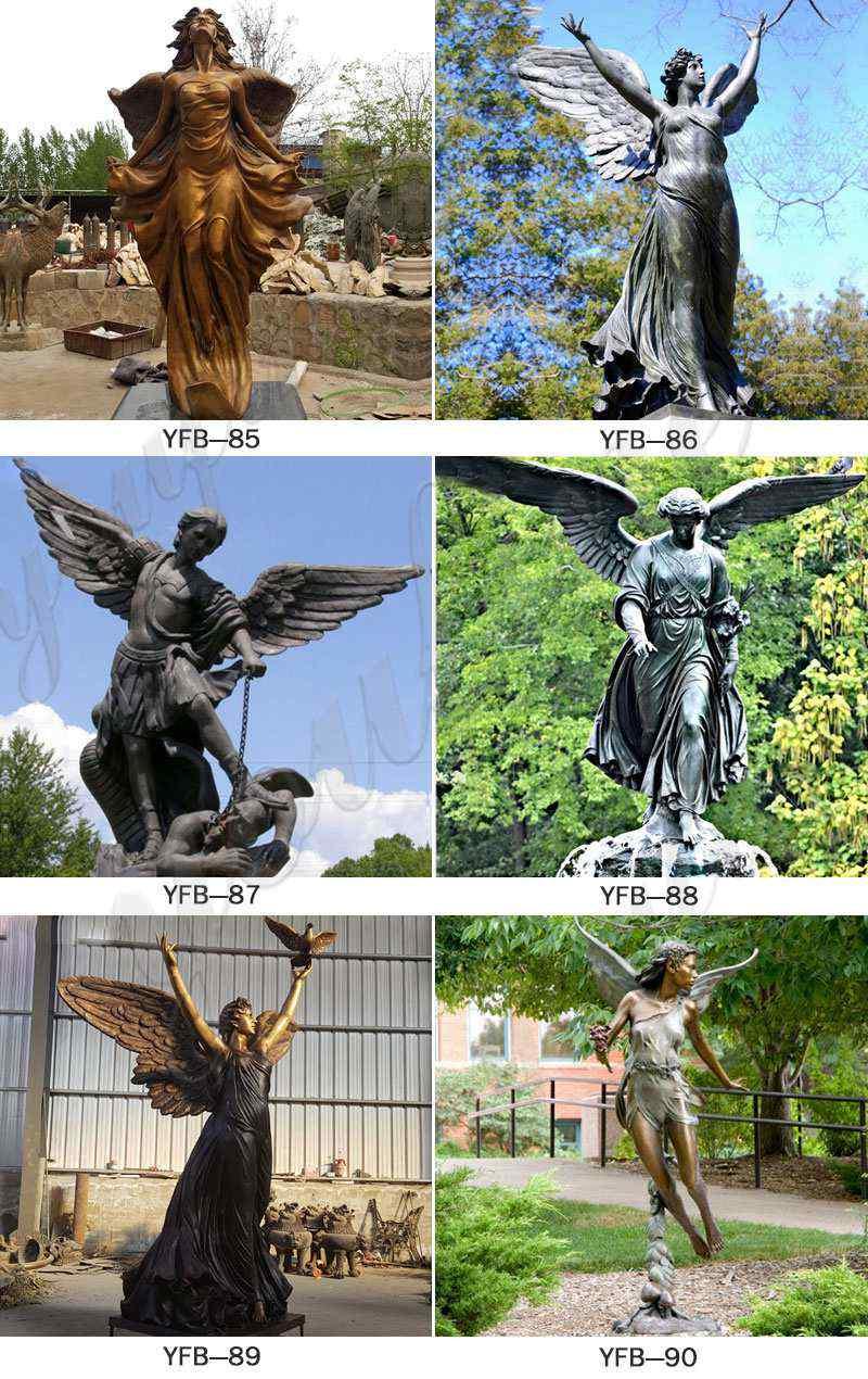 наружные статуи ангела