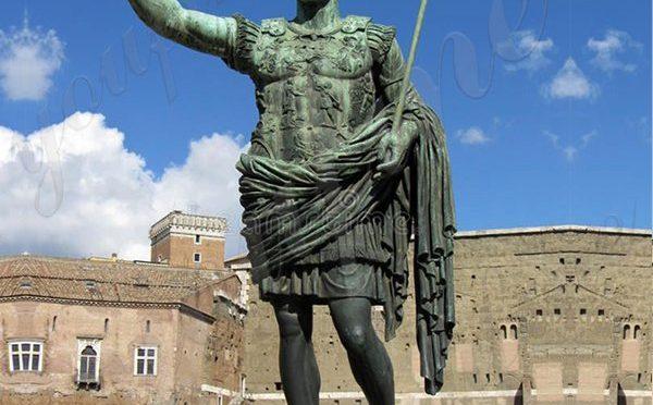 Большая бронзовая статуя императора Августа Цезаря реплики поставщиков