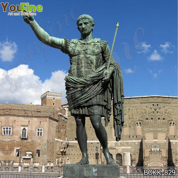 Большая бронзовая статуя императора Августа Цезаря реплики поставщиков BOKK-829
