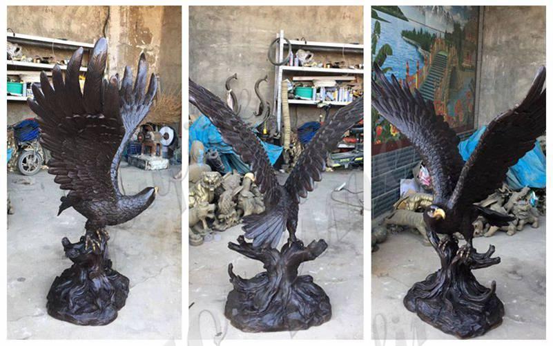 бронзовые статуи Орла оптом