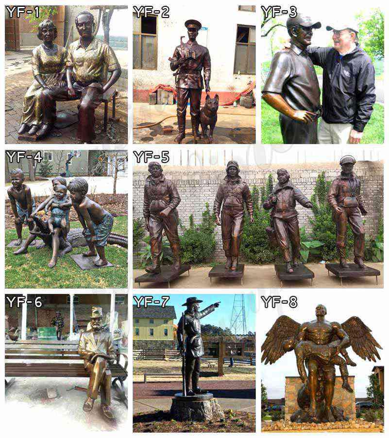 изготовленная на заказ статуя конструировала