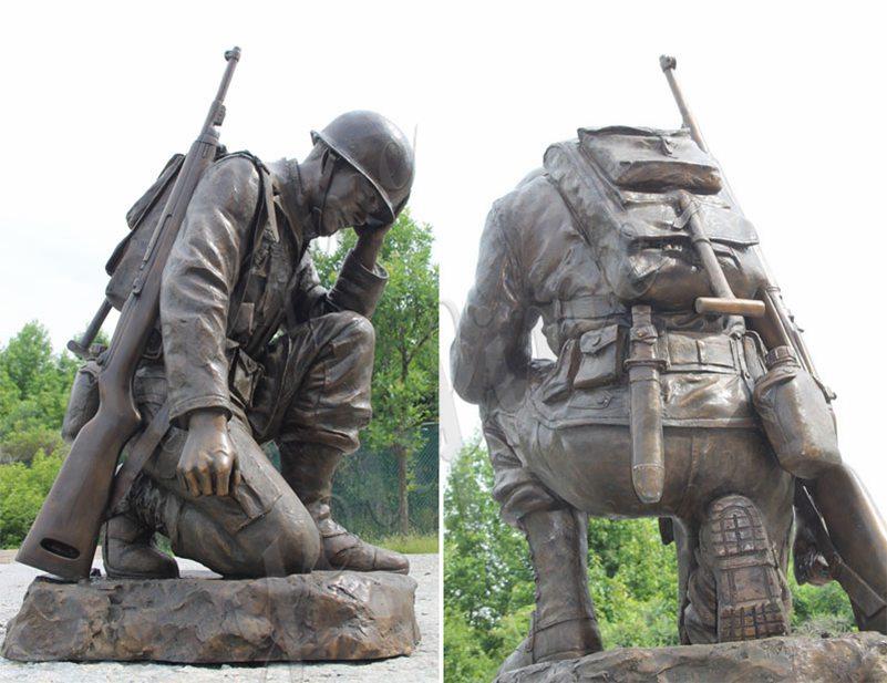 напольные военные статуи для продажи