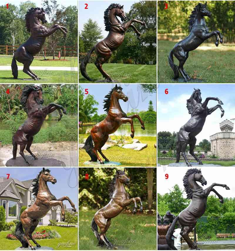 бронза литье лошадь конь купить