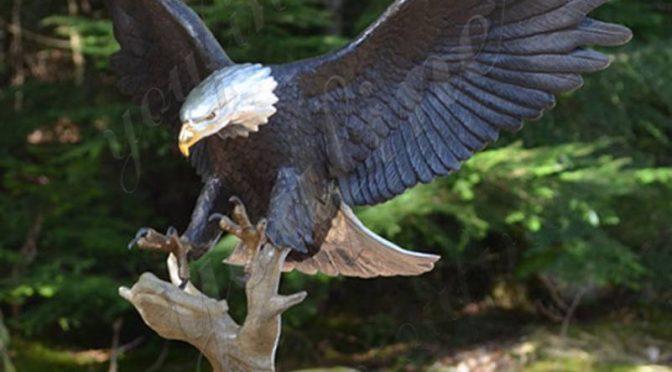 Купить бронзовый орел наружная скульптура для сада интернет