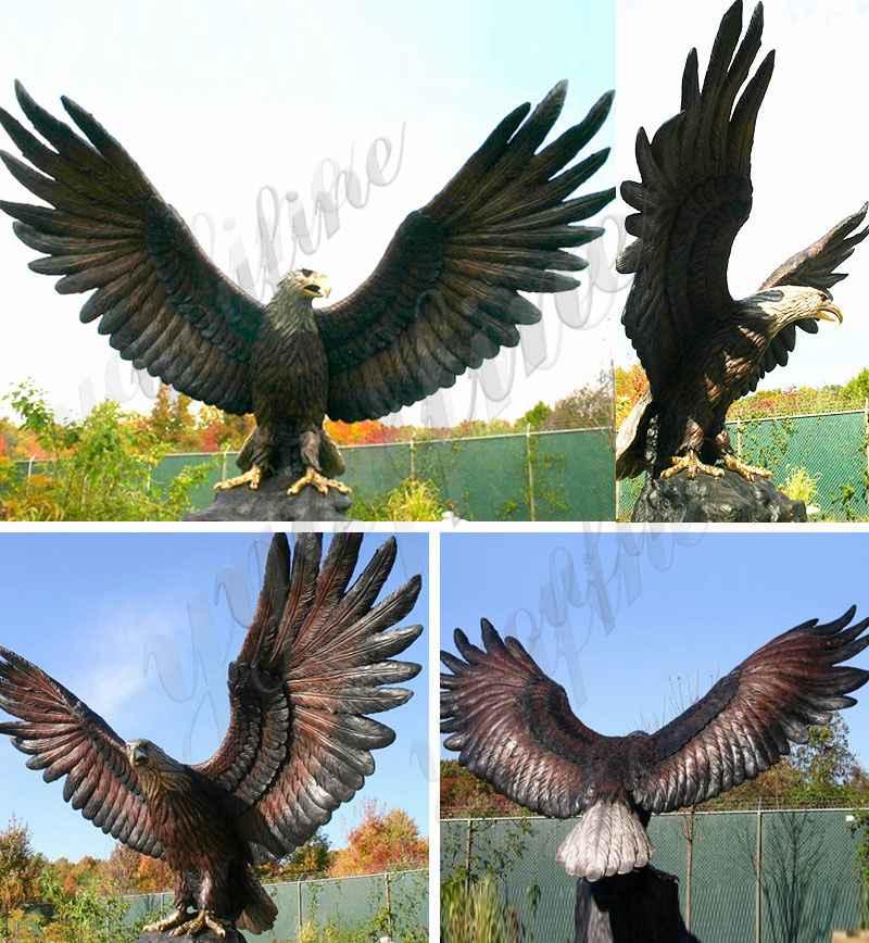 бронзовые скульптуры орла
