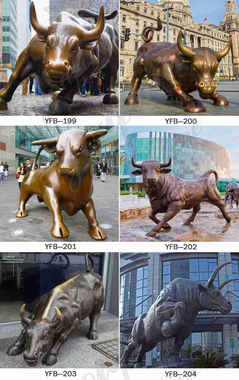 статуя быка в натуральную величину для продажи