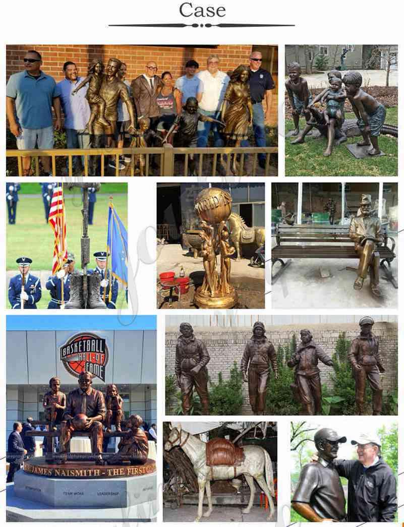 Бронзовые статуи для продажи