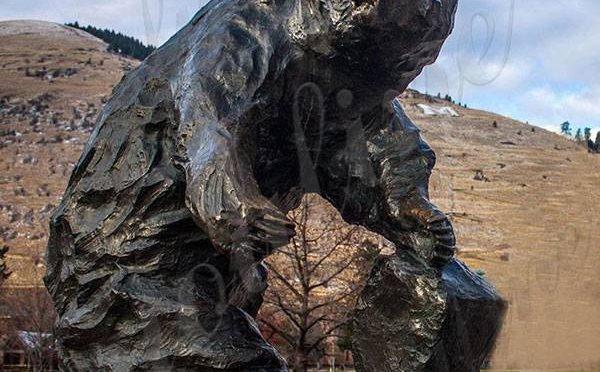Дешевая цена напольная большая бронзовая статуя медведя для продажи