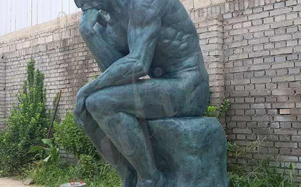 Знаменитый Роден Мыслитель бронзовая статуя реплика для продажи