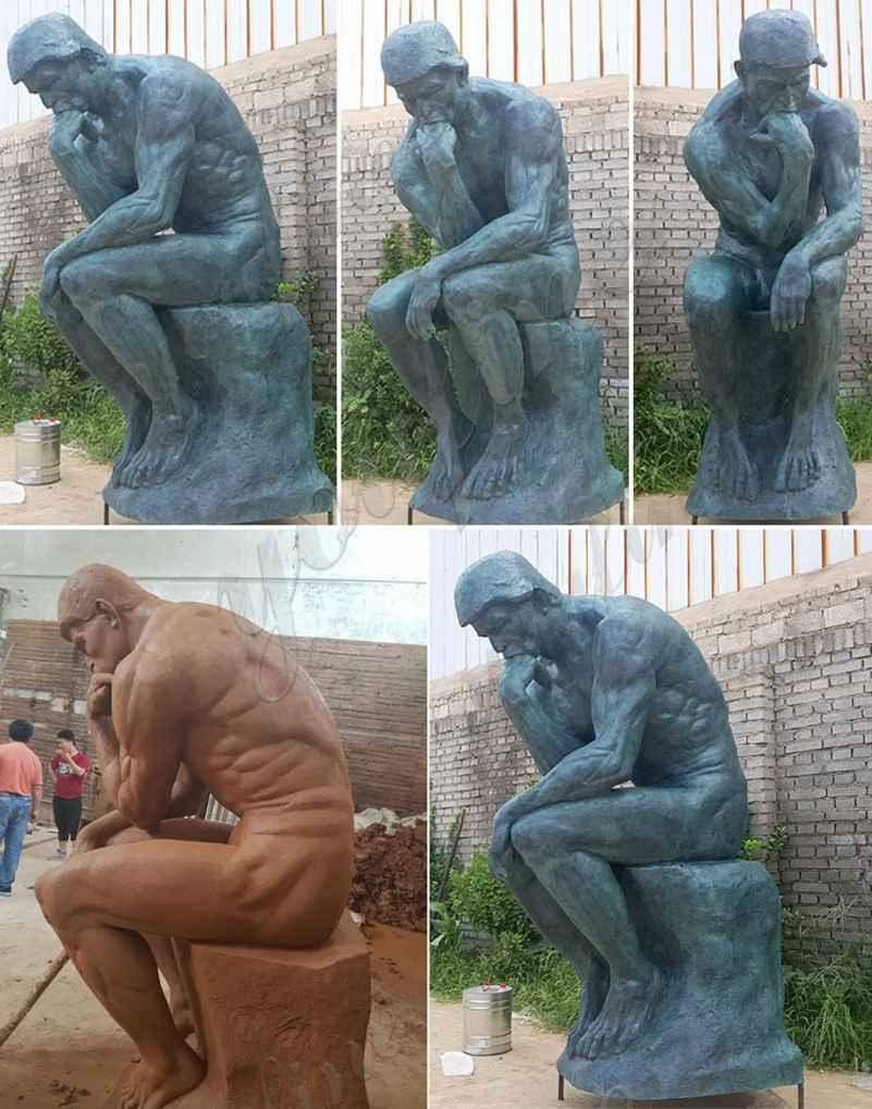 копия статуи мыслителя