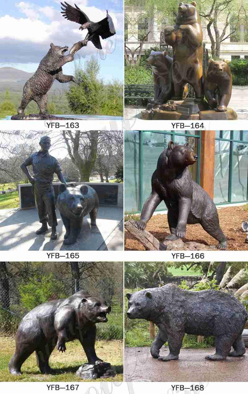 статуи медведя в натуральную величину для продажи