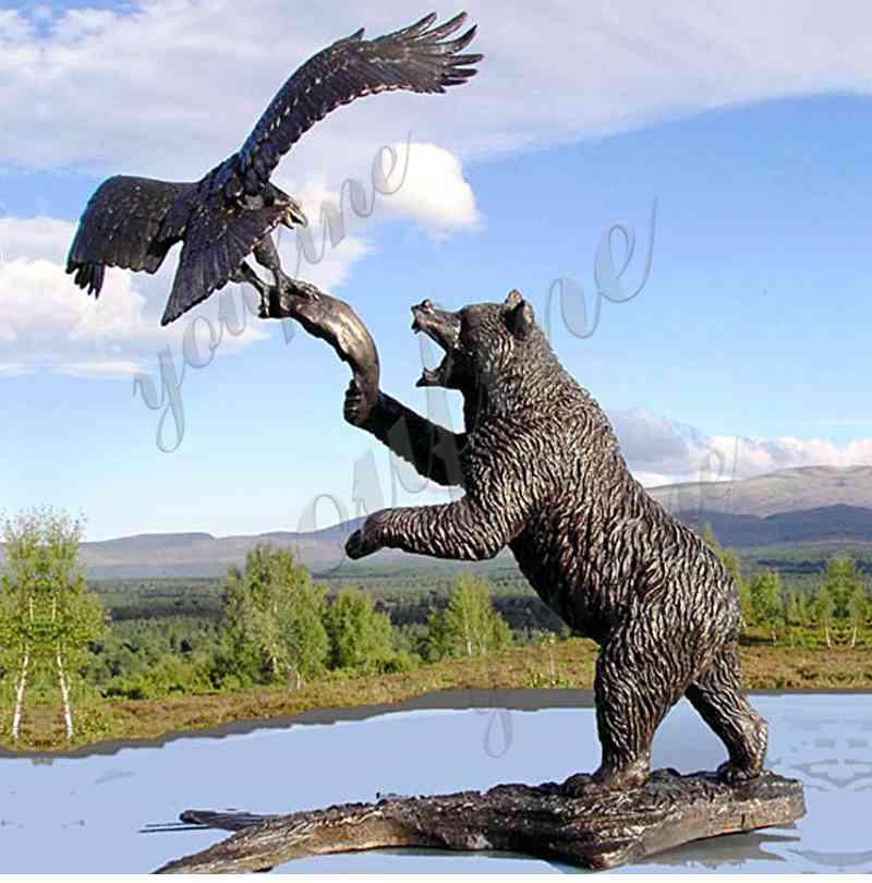 статуя медведя на продажу