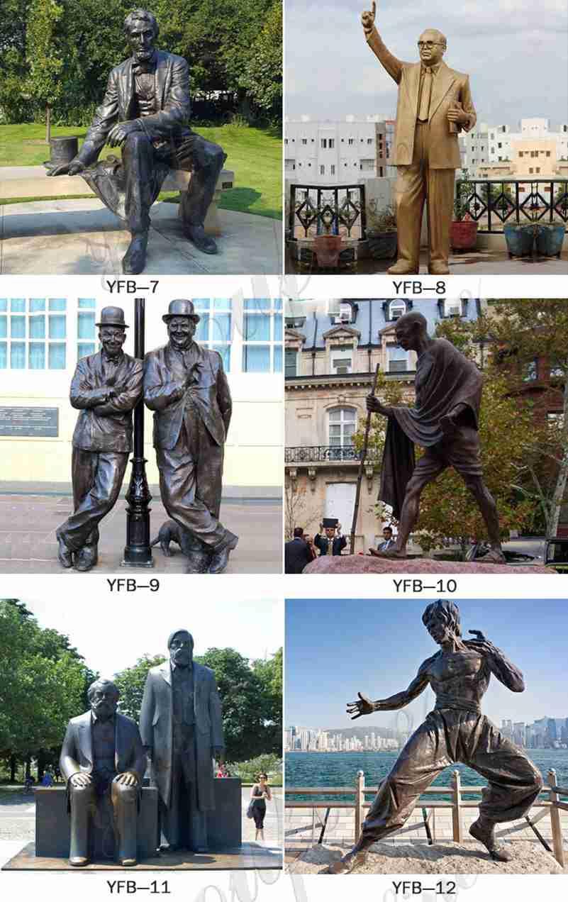 выполненная на заказ знаменитая фигура статуя для продажи