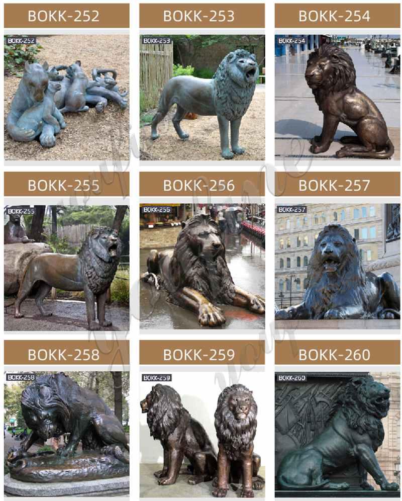 мешок бронзовые скульптуры животных