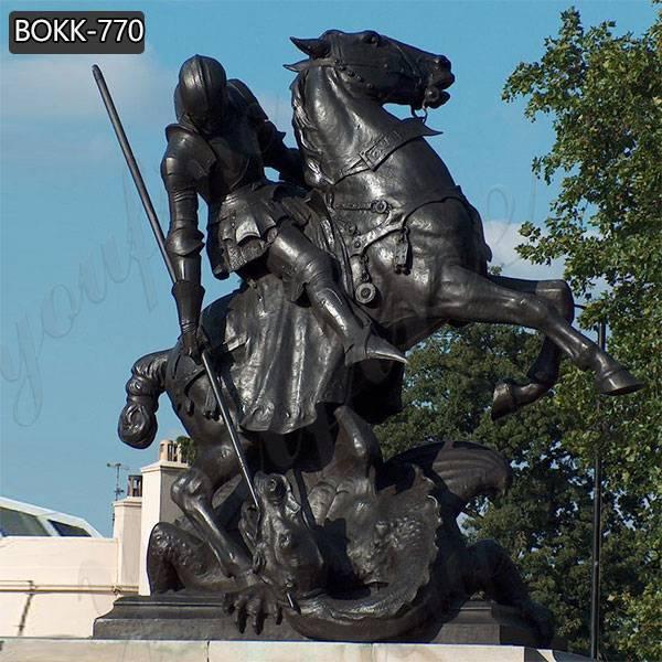 Китайцы поставляют знаменитые бронзовые статуи Святого Георгия и дракона BOKK-770