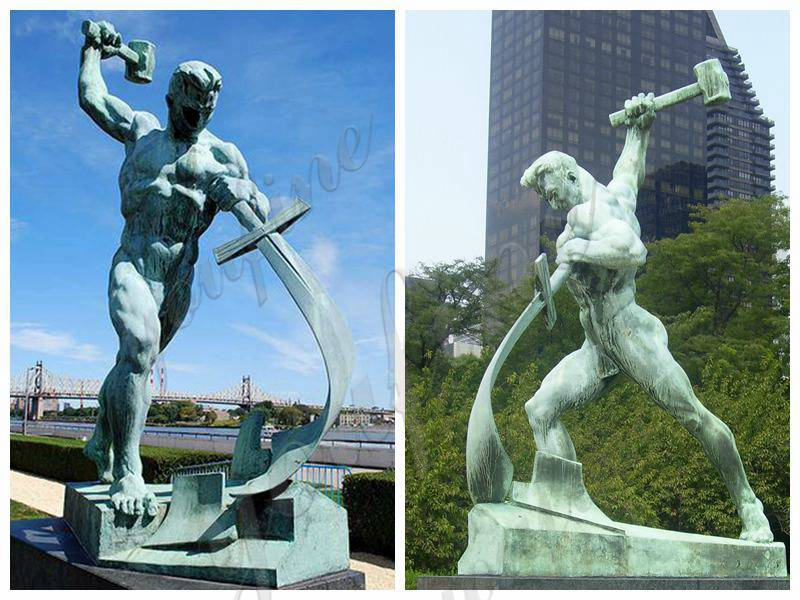 мечи к оралам бронзовая скульптура