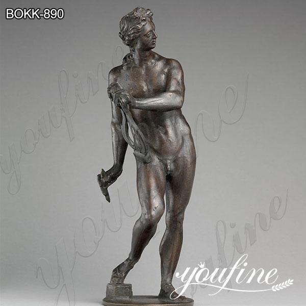 Знаменитый бронзовый Аполлон с лирой статуя в натуральную величину от заводских поставок BOKK-890