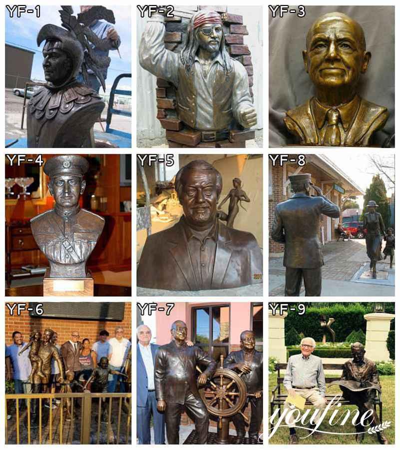 изготовленные на заказ бронзовые статуи в натуральную величину