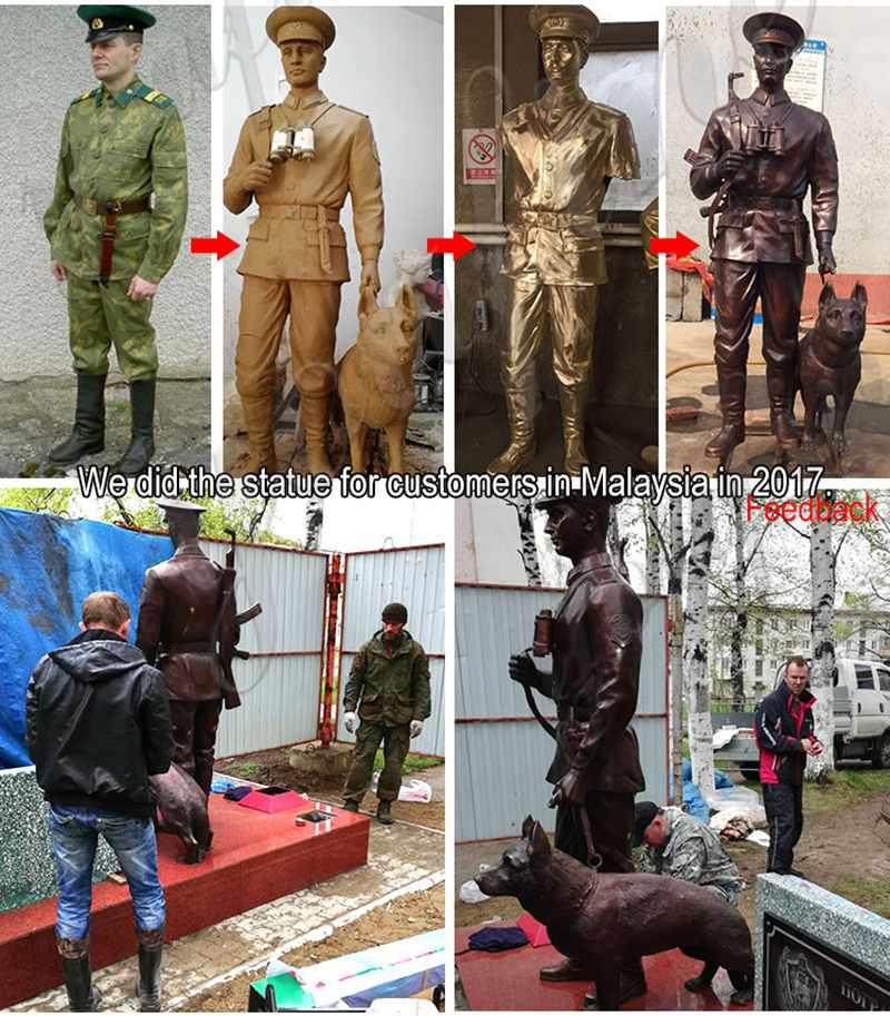 статуявоенного солдата