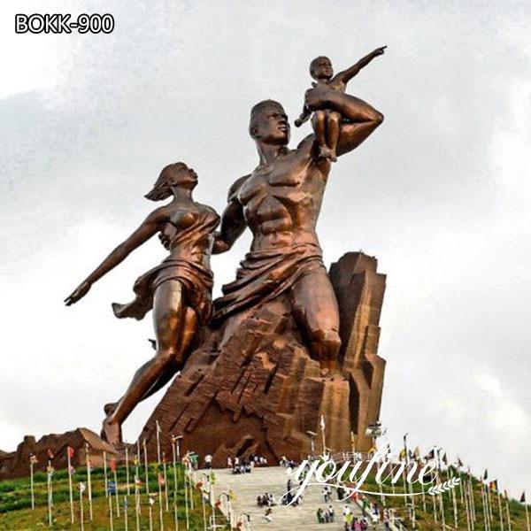 Большой Бронзовый Проект Памятника Африканского Ренессанса для продажи BOKK-900