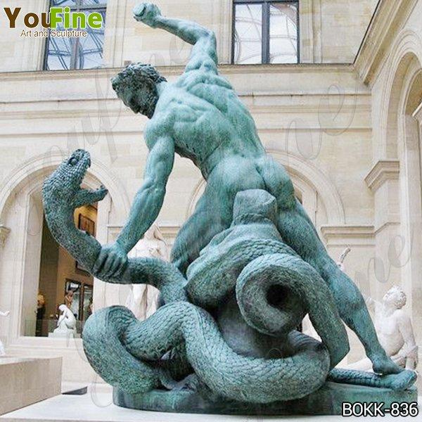 Классическая бронзовая статуя Геркулеса и Ахелуса на продажу BOKK-836