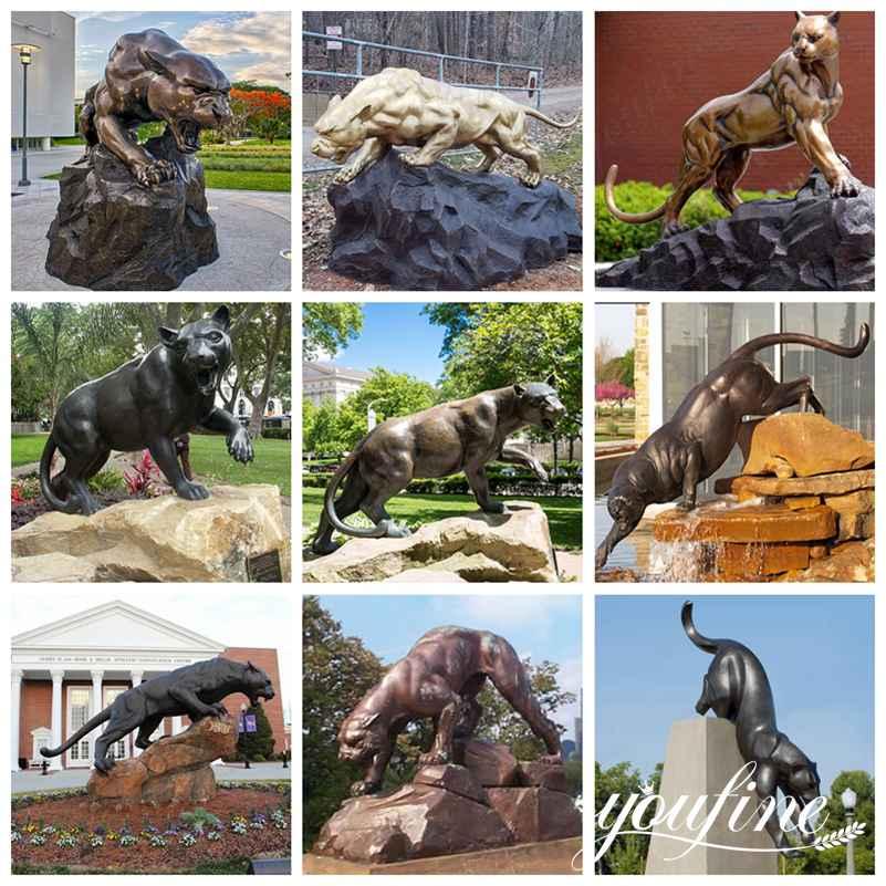 Статуя леопарда в натуральную величину